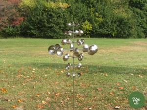 wind sculptures , garden art, metal yard art , wind spinners, wind sculptures , kinetic wind sculpture , garden decoration , kinetic wind spinners